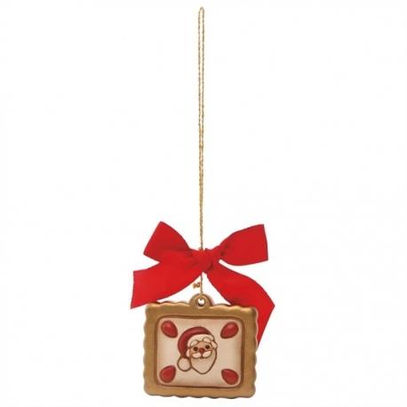Addobbi Natalizi Thun.Addobbo Biscotto Con Babbo Natale Thun