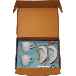 Il caffé Alessi, Cucchiaino da moka, sottotazza da caffè, tazza da caffè - Alessi