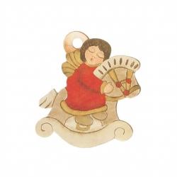 Chiudipacco angelo su cavallino 3 pezzi - Thun