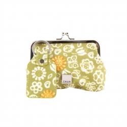 Portafoglio con portachiavi Sunflower - Thun