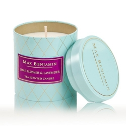 Candela, Lime Flower & Lavender - Max Benjamin