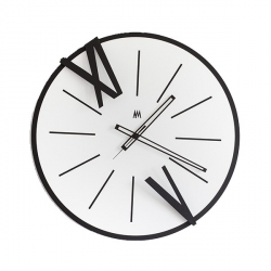 Orologio Berto, Nero e Bianco - Arti e Mestieri