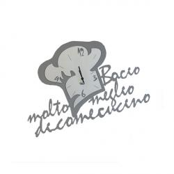 Orologio Chef in Love, Ardesia - Arti e Mestieri