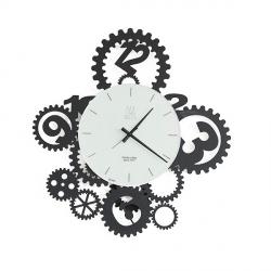 Orologio Ingranaggi Pendolo, Nero - Arti e Mestieri