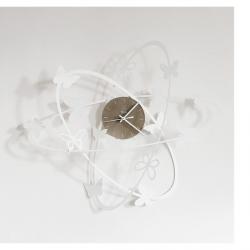 Orologio Multi Butterfly, Bianco Neve - Arti e Mestieri