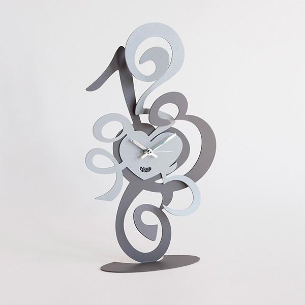 Orologio truciolo tavolo ardesia e alluminio arti e for Orologio arti e mestieri amazon