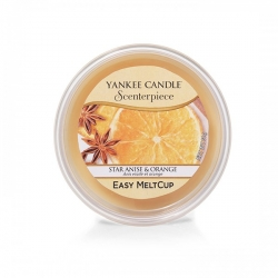 Star Anise & Orange, Ricarica MeltCup per profumatore elettrico Scenterpiece - Yankee Candle