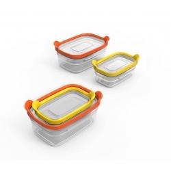 Nest storage, Set di 2 contenitori impilabili - Joseph Joseph