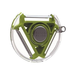 Rotary peeler, Sbucciatore a 3 lame verde - Joseph Joseph