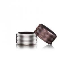 Wine collar, Set 2 anelli salvagoccia - Vacu Vin
