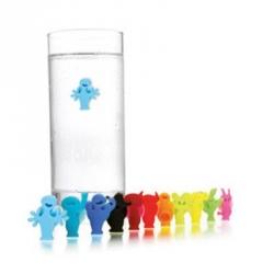 Glass marker, Set 12 marcatori per bicchieri - Vacu Vin