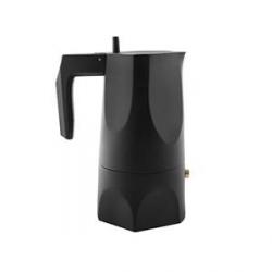 Ossidiana, caffettiera espresso, tazze n. 3 - Alessi