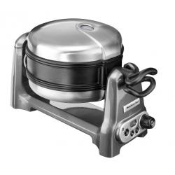 Waffle Baker KitchenAid Artisan, Grigio Metallizzato