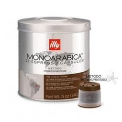 Barattolo da 21 capsule illy, Caffè Monoarabica Brasile