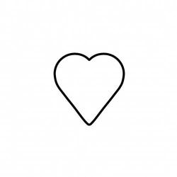 Tagliabiscotto cuore Cm. 6 - Kaiser