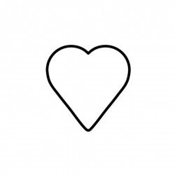 Tagliabiscotto cuore Cm. 8 - Kaiser