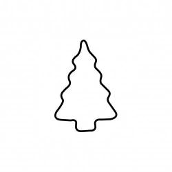 Tagliabiscotto Albero Di Natale Cm. 4 - Kaiser