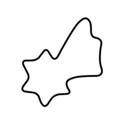 Tagliabiscotto cometa Cm. 4 - Kaiser