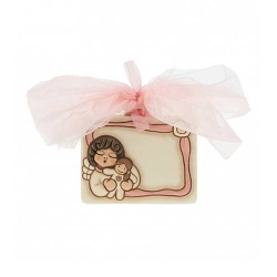 Coccarda nascita Angel girl - Thun