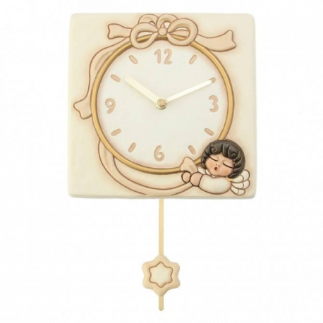 Orologio a pendolo angel neutral thun idea regalo design for Orologi da parete thun 2016