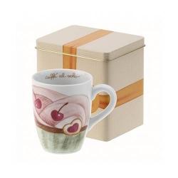 Mug con scatola in latta Sweet cake - Thun