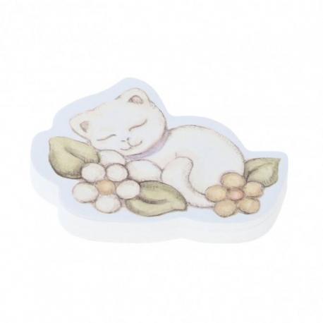 Foglietti adesivi gatto thun idea regalo design for Gatto thun