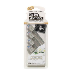 Fluffy Towels Car Vent Sticks - Yankee Candle