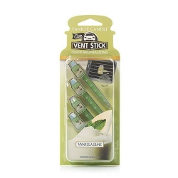Vanilla Lime Car Vent Sticks - Yankee Candle