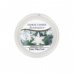 Sparkling Snow, Ricarica MeltCup per profumatore elettrico Scenterpiece - Yankee Candle