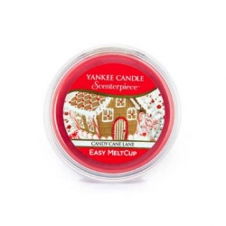 Candy Cane Lane, Ricarica MeltCup per profumatore elettrico Scenterpiece - Yankee Candle