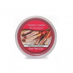 Sparkling Cinnamon, Ricarica MeltCup per profumatore elettrico Scenterpiece - Yankee Candle