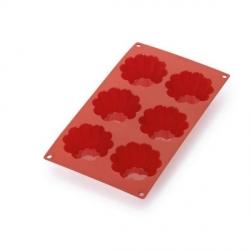 """Stampo """"Briochette"""" 6 porzioni in silicone - Lékué"""