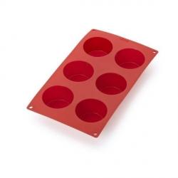 """Stampo """"Mffin"""" 6 porzioni in silicone - Lékué"""