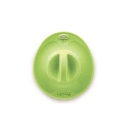 """Coperchio """"Ventosa S"""" con foro fapore in silicone, verde - Lékué"""