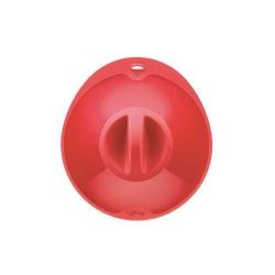 """Coperchio """"Ventosa M"""" con foro fapore in silicone, rosso - Lékué"""