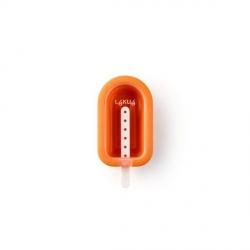 """Stampo ghiacciolo/gelato """"Mini"""" in silicone, arancione - Lékué"""