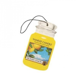 Sicilian Lemon Car Jar - Yankee Candle