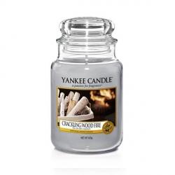 Crackling Wood Fire Giara Grande - Yankee Candle