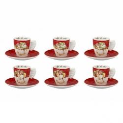 Confezione 6 tazzine espresso Dolce Natale - Thun