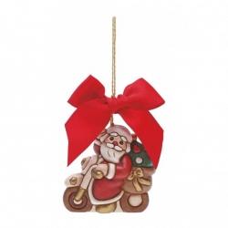 Addobbo Babbo Natale motorizzato grande - Thun