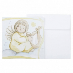 Chiudipacco angelo con arpa - Thun