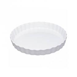 "Stampo torta tondo in porcellana ""Burgund"" Cm. 20x3,2 - Kuchenprofi"