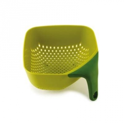 Square colander, Scolapasta quadrato verde - Joseph Joseph