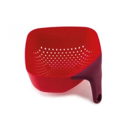 Square colander, Scolapasta quadrato rosso - Joseph Joseph