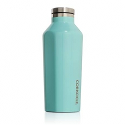 Canteen, Borraccia Termica Ml. 270, Turchese lucido - Corkcicle