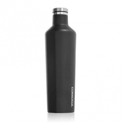 Canteen, Borraccia Termica Ml. 740, Nero Opaco - Corkcicle