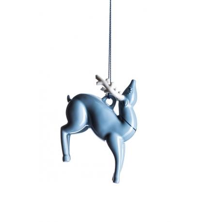Blue Xmas, Decorazione renna - Alessi
