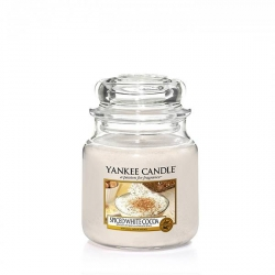 Spiced White Cocoa Giara Media - Yankee Candle