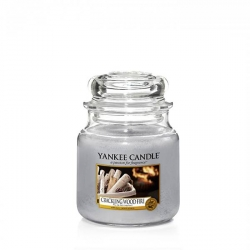 Crackling Wood Fire Giara Media - Yankee Candle