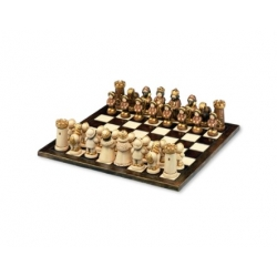 Alfiere statuina scacchiera, champagne - Thun